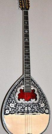 Greek-8-String-Bouzouki-w-Soft-Case-0